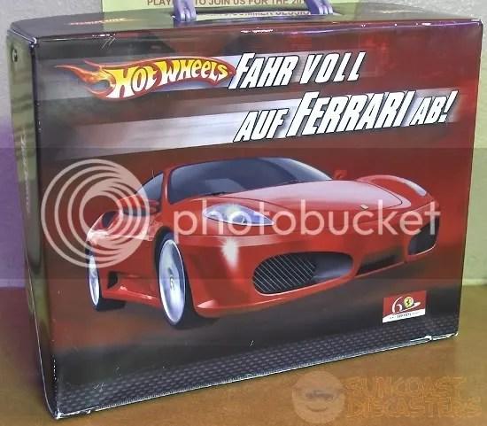 Aus Deutchland!  (Because Ferrari is German, ya know.)
