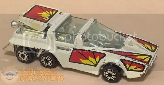 "Suncoast Diecasters.com: Kenner ""Fast111s"" Saturn Seeker, white"