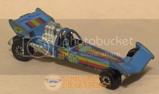 "Suncoast Diecasters.com: Kenner ""Fast111s"" Drag King, blue"