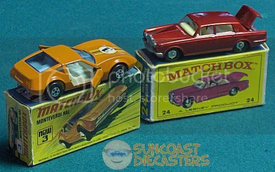Yes, kids, it's true: toy cars used to be packaged in boxes, not in blisters on cardboard backers.