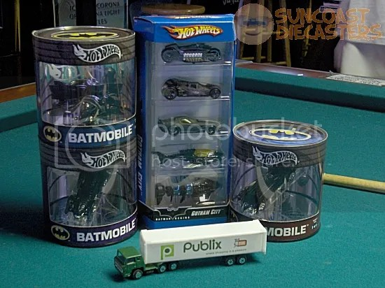 The Publix delivery truck played a key role in all 19 Batman movies.
