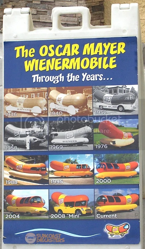 Back in my day, kids, even the hot dogs were in black & white!