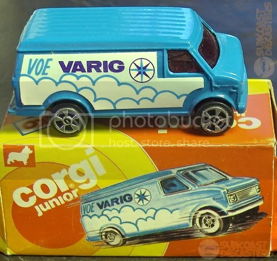 It's a Varig nice miniature! (AND THE COMEDY NEVER STOPS!)