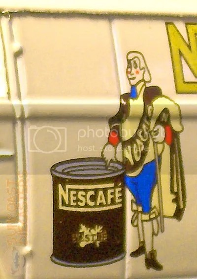 This is good coffee. You can trust a man in pantaloons.