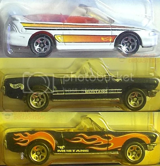 '96 Mustang Convertible; '65 Mustang Convertible; '65 Mustang