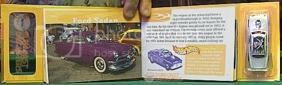 These pages feature the real Ford vehicle that Shoe Box is based on.