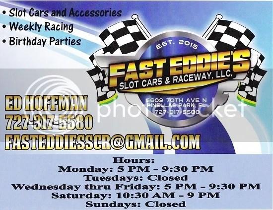 Fast Eddie's Slot cars & Raceway, LLC