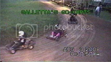 5hp Gas Stocker Kart Heat #2 - Galletta's 8/3/2008
