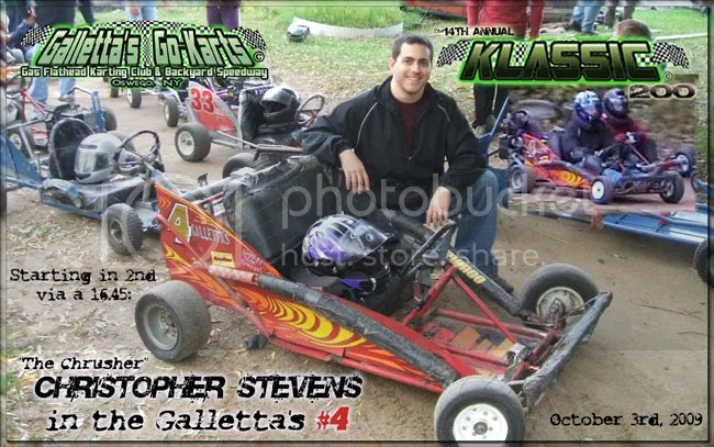 Chris Stevens #4 at Galletta's '09 Klassic