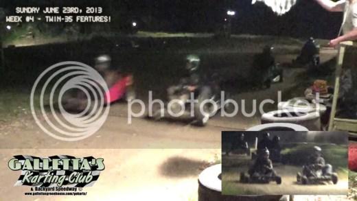 Oswego Karting 6/19/2013 Mid-Week Twin Features!