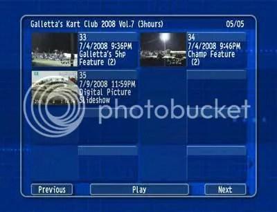Oswego Kartway 2008/07/04 DVD 5