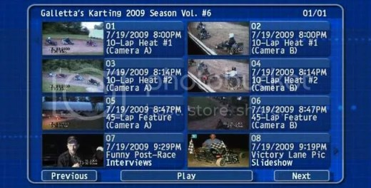 7/19/2009,DVD Menu