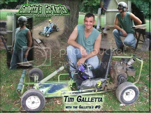 Tim Galletta - Galletta's #9 kart