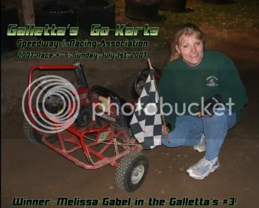 Missy Gabel wins!!!!