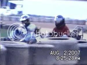 Matt Stevens wins on checker at Oswego Speedway