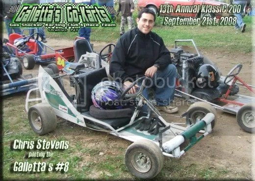 Chris Stevens #8 at Galletta's '08 Klassic