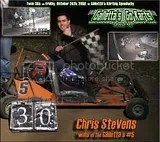Chris Stevens and his Galletta's #5 Gas Stocker Kart on 10/24/2008!
