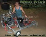 Matt Stevens wins the Oswego County stock 5hp event for 7/8/2007!