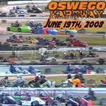 Oswego Dirt Karting 2008 Volume 6 DVD - 6/19/2008