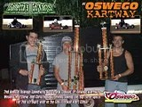 Chris, Wes, and Matt Stevens sweep top 3 spots 2 years in a row at Oswego Kartway Classic!
