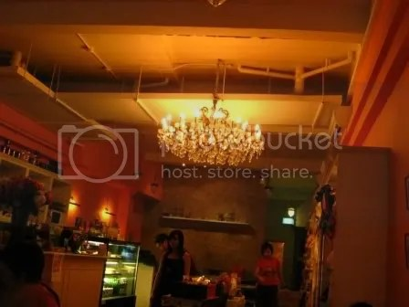 fancy lighting for a dog restaurant