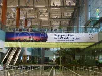changi airport and the singapore flyer