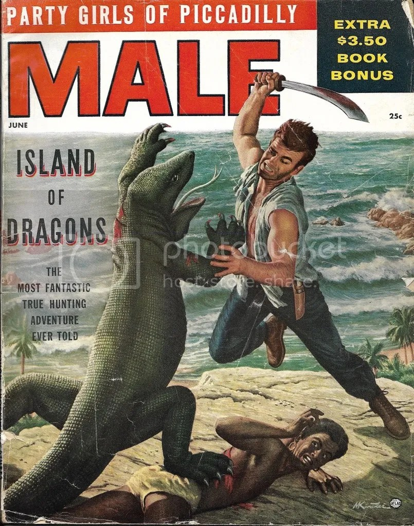 Male magazine front cover