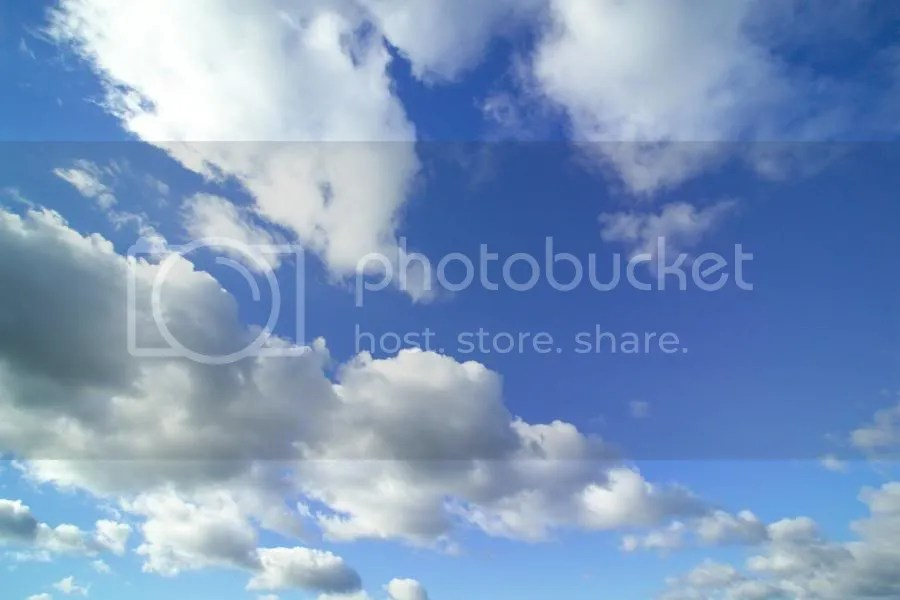 Clouds, very much of the sort we wouldnt be plummeting through. Image courtesy FreeFoto.com