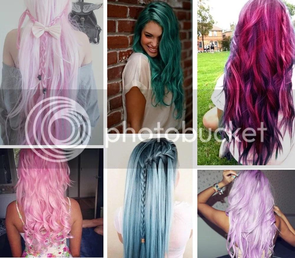 Colorful hair @ foreverpetite.net