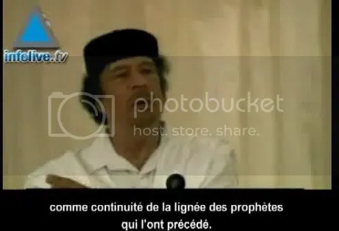 GADHAFI 01 JAN 2010