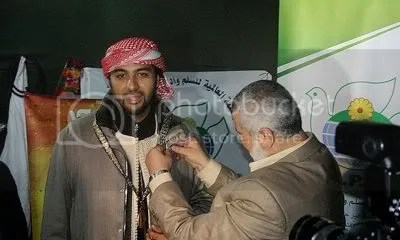Khaled al-Hamedi awared peace in Libya