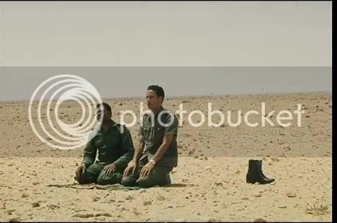 w desert friend in prayer
