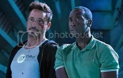 Iron Man 3 - Robert Downey Jr and Don Cheadle