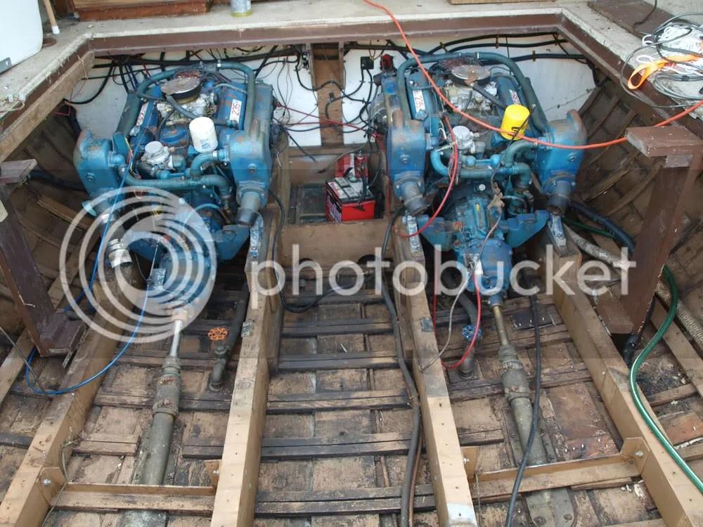 build wood engine cradle