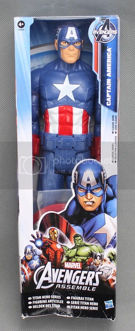 Marvel Transformers Toys Vehicle Hero Captain America