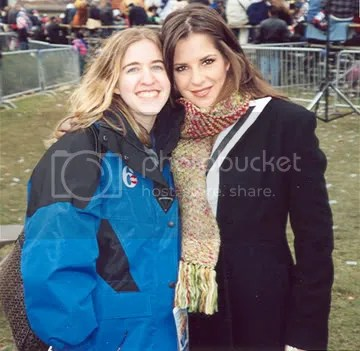 Kelly Monaco and me, 2005