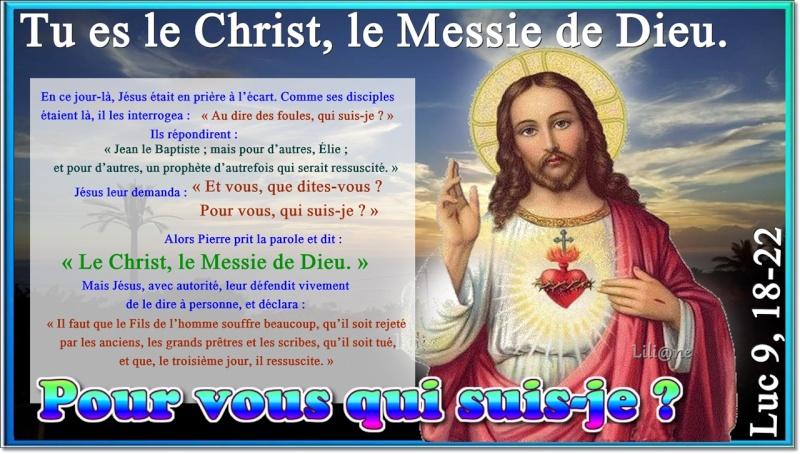 Tu es le Christ, le Messie de Dieu