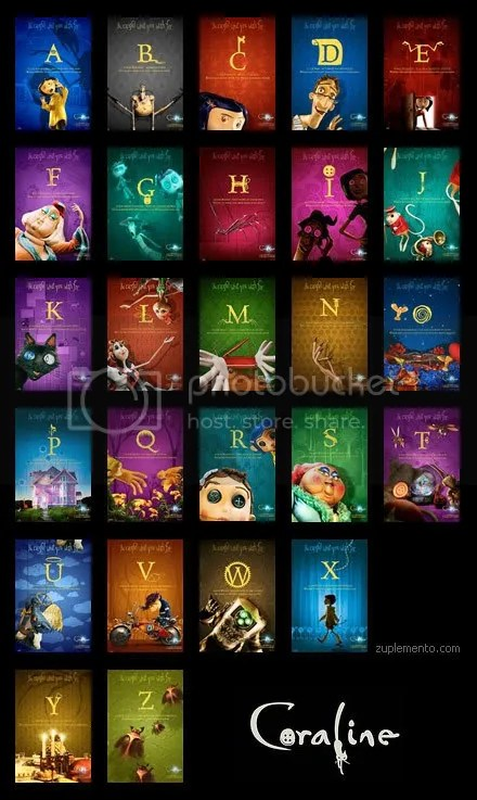 Afiches para cada letra del abecedario. Clickea para verlo o pidemelos por Messenger