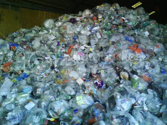 Plastic mountain