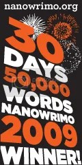 NaNoWriMo 2009 winner icon