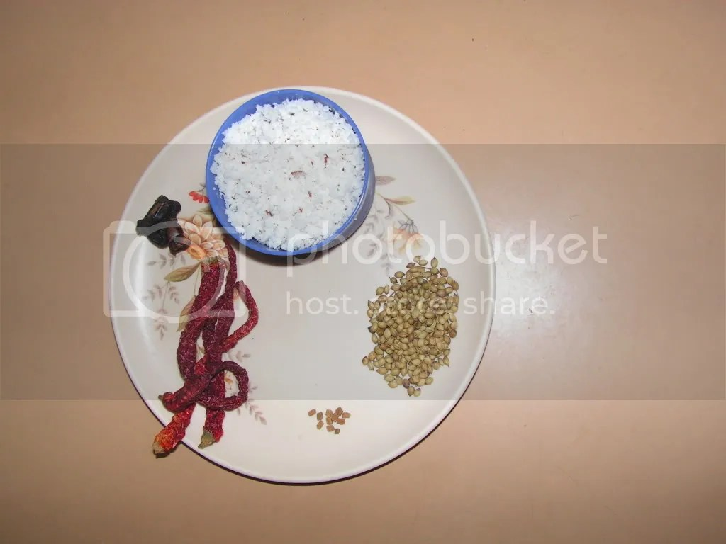 Ingredients of the Masala