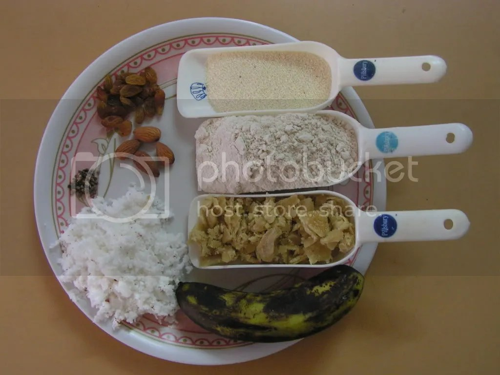 Ingredients of Sweet Appam
