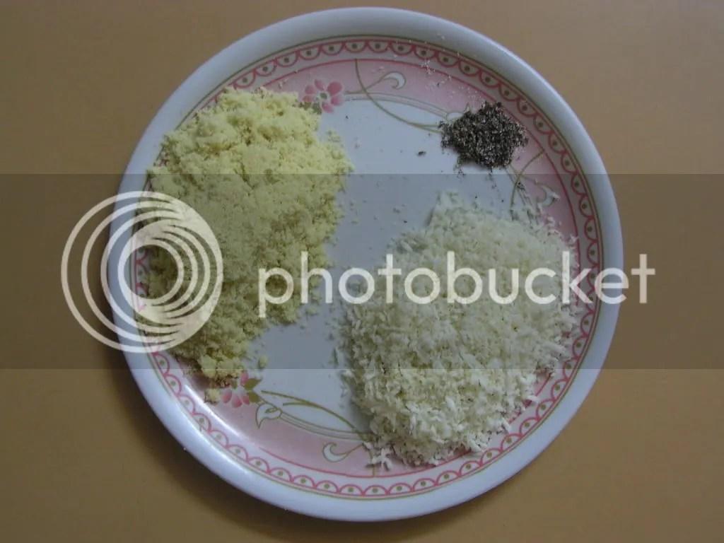 Ingredients  fried in pure ghee