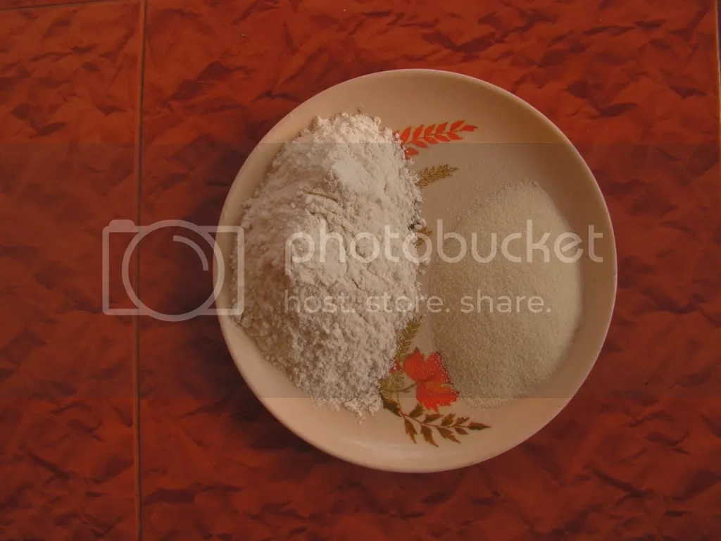 Ingredients of Karanji dough