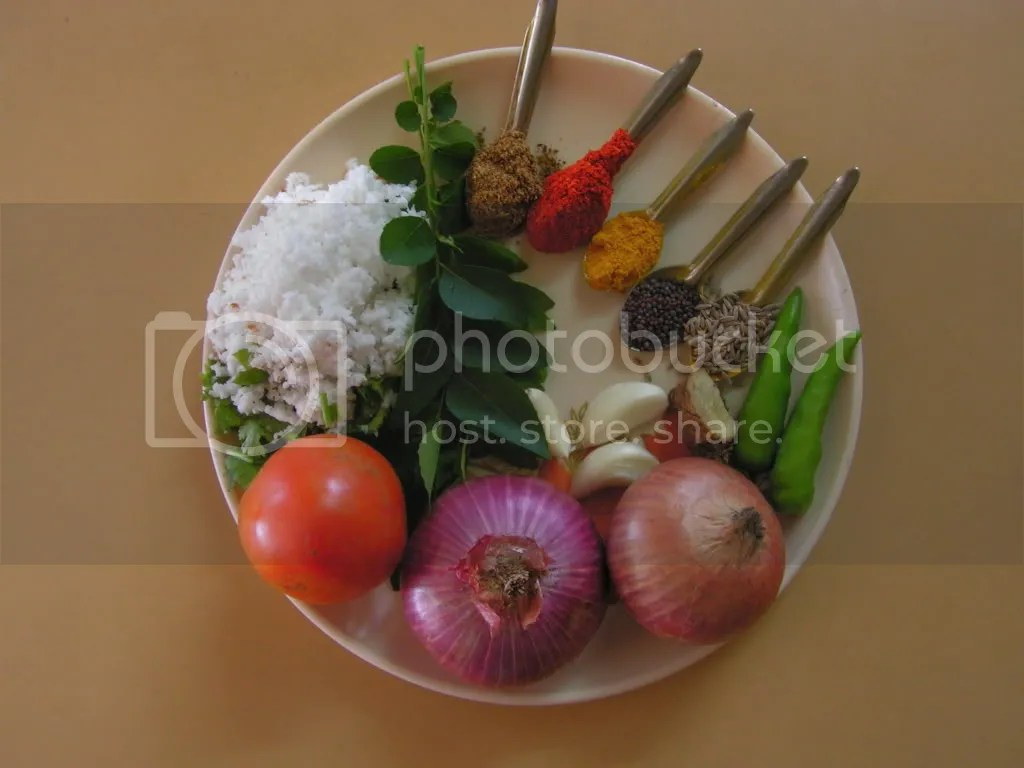 Ingredients of Matki Masala