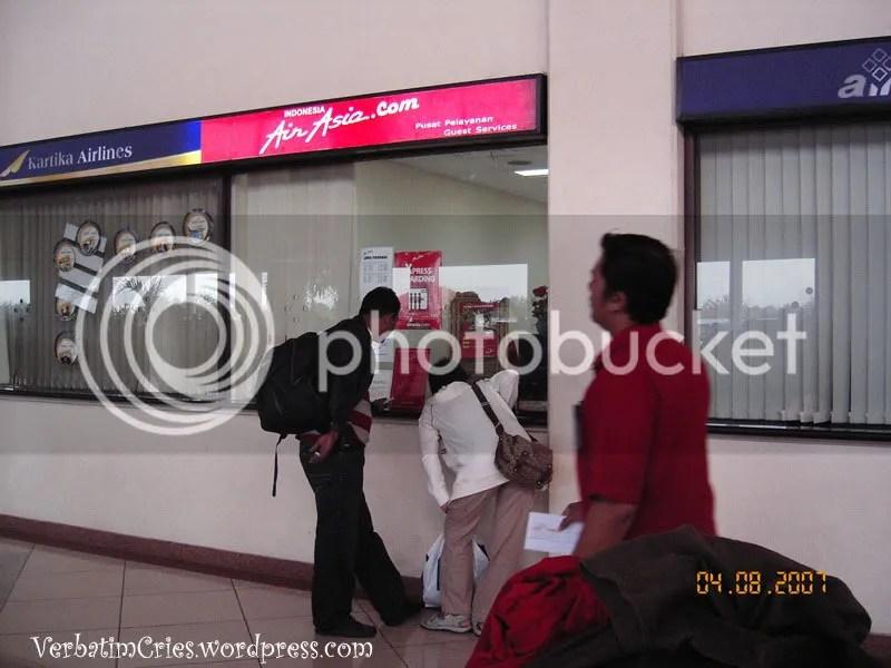 Air Asia counter