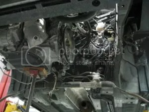 02 Altima 35 V6 auto tranny rough shift from 1st to 2nd