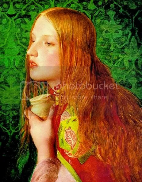 Mary Magdalene. By Anthony Frederick Augustus Sandys. Ca. 1860