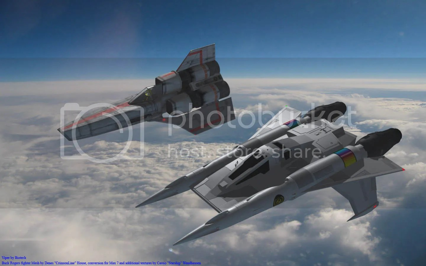 Space fighter craft