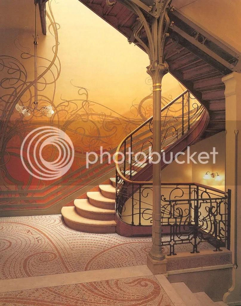 victor horta hotel tassel staircase